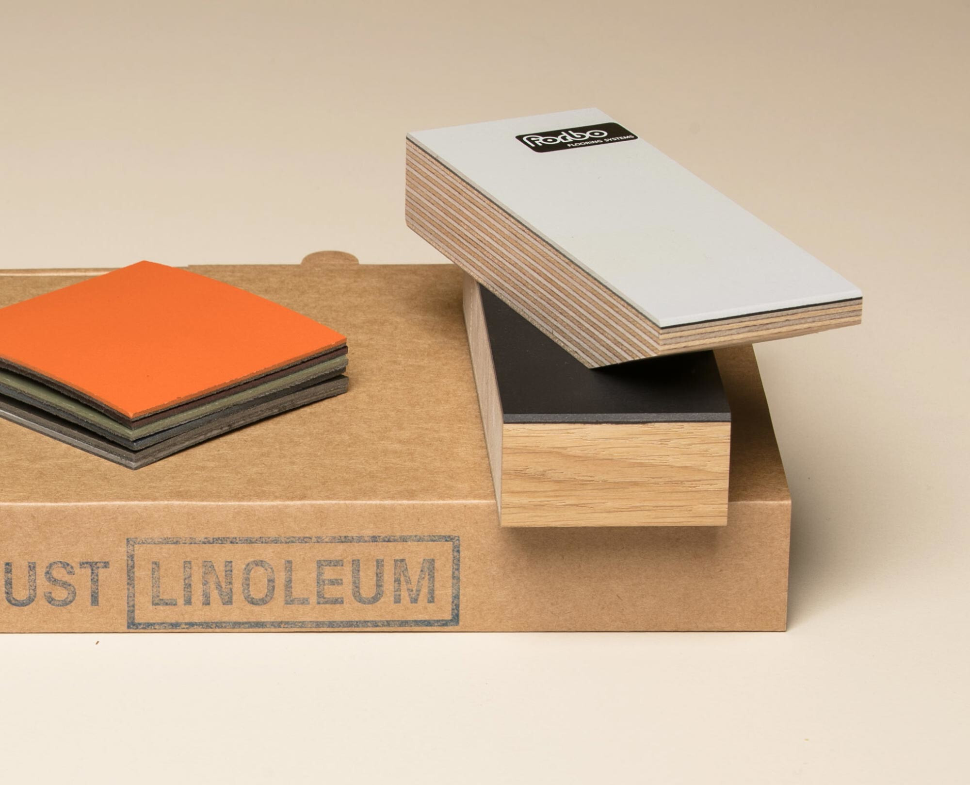 The free linoleum sample set
